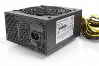 Блок питания ATX 1600Вт NR-1600P (24pin+8pin,PCI-E 8pin x16, IDE x5, SATA x7) PS/2, PFC, Negorack